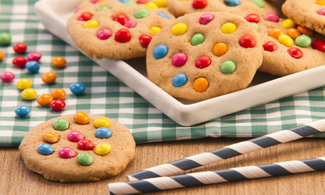 cookies colorido